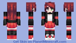 Evie (Request from OnceOnAFridae) Minecraft Skin