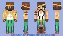 Steampunk Princess Minecraft Skin