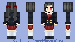 Midnight-OC-School Uniform Minecraft Skin