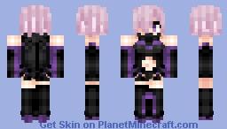 Mashu Kyrielight (Shielder) マシュ・キリエライト Fate/Grand Order Minecraft Skin
