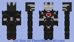 war machine Avengers Infinity War Minecraft Skin
