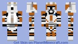 Clone Commander Cody Minecraft Skin