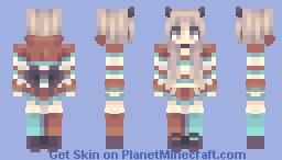Tiki Taka | Persona Minecraft Skin