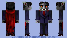 Count Dracula  10 place Minecraft