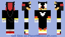 Shadow Minecraft Skin