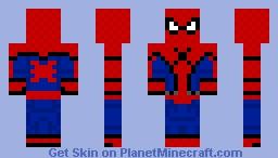 Spider-Man (2017) Minecraft Skin