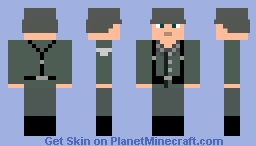 Wehrmacht Soldat World War II Minecraft Skin