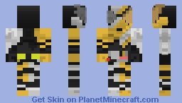 Kamen Rider Build Rabbit Dragon Form Minecraft Skin
