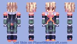 bakugou - bnha Minecraft Skin