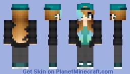 For ashi ashi (my friend) Minecraft Skin