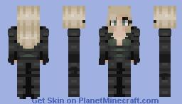 Black Widow-Infinity War Minecraft Skin