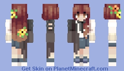 ~✿~ Clarisse || Level 42!! || popreel Minecraft Skin
