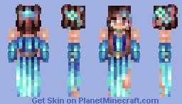 Seaside // Jadeite Minecraft Skin