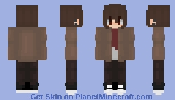 Im leaving guys,, Minecraft Skin
