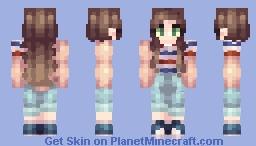 dress coded Minecraft Skin