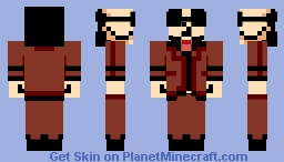 Dr.Yado Double Skin [Lisa: The Painful] Minecraft Skin