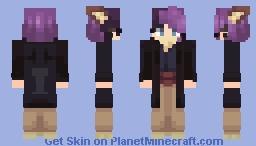 -𝕭𝖔𝖊𝖊- new version of my oc Minecraft Skin