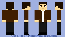 Soviet Man - USSR civilian ,1950s Minecraft Skin