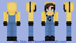 Minion Girl Onesie | ~𝘈𝘭𝘺𝘴𝘴𝘢~ Minecraft Skin