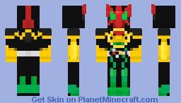 Kamen Rider OOO TATOBA Combo Minecraft