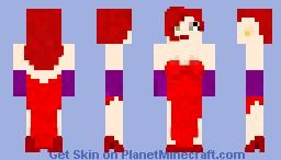 Jessica Rabbit Minecraft Skin