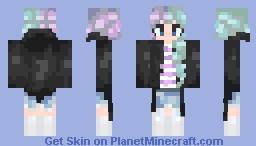 ѕιмply - ᴋɪᴛᴛ-ᴄʜᴀɴ's - lavender - Reshade Contest Minecraft Skin