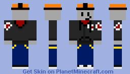roblox builderman Minecraft Skin