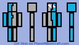 2 different worlds. Minecraft Skin