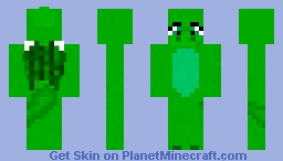 Little Green Dragon- Toy Chest Skin Contest Minecraft Skin
