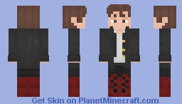 sO UnaWaRE Of My StaTUS- Minecraft Skin