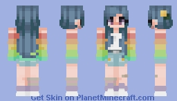 I was hangin' with you, and then I realized I didn't think it was true, I was surprised Minecraft Skin
