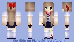 Zombie School Girl Minecraft Skin
