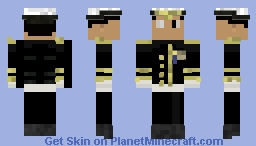 Military Officer ( My old skin) Minecraft