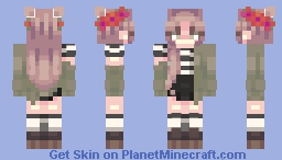|Tumblr girl| Minecraft Skin