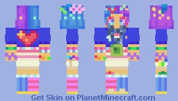 decora girl Minecraft Skin