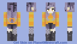 halloween came early this year Minecraft Skin