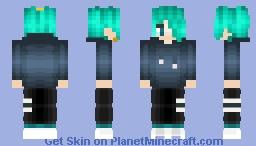 ▁ ▂ ▄ ▅ ▆ ▇ █Ini Karatachi █ ▇ ▆ ▅ ▄ ▂ ▁ Minecraft Skin