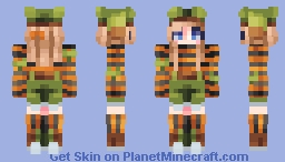 Patchwork Pumpkins Minecraft Skin