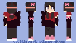 Pretty in Pink Remake or something xD ~ 𝕄𝕪𝕤𝕥𝕚𝕔𝕄𝕒𝕣𝕚𝕟𝕖𝕠𝕟 ~  Mangled's Teammates Contest Minecraft Skin