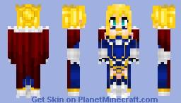 Artoria Pendragon (Lancer) アルトリア  Fate/Grand Order Minecraft Skin