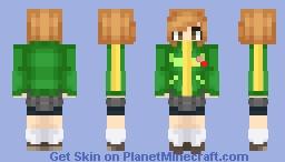 Chie Satonaka - Persona 4 Minecraft Skin
