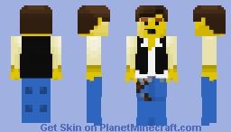 Lego Han Solo - (Old Figure) Minecraft Skin