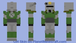 T-51b Power Armor - Fallout Minecraft Skin