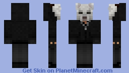 Tissou's Fox Mask (from You're Next) Minecraft Skin