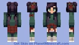 | free fall Minecraft Skin