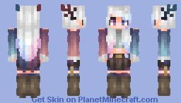 𝒮𝓀𝒶𝒸𝒽𝓊|| Wasteland- Tears of a Blizzard Minecraft Skin