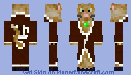 Fancy Kitteh Minecraft Skin