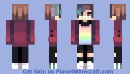 little boy broken - oc Minecraft Skin