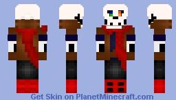 Dustbelief: Papyrus Minecraft Skin