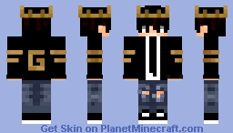 King_or_no?))) Minecraft Skin